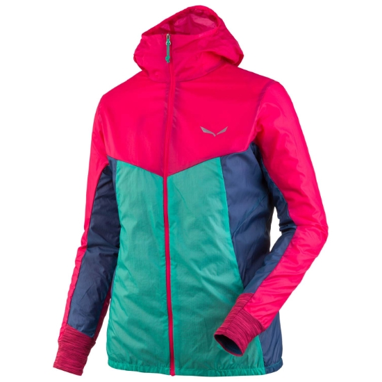 Salewa Pedroc Wind Jacket W - Rose Red