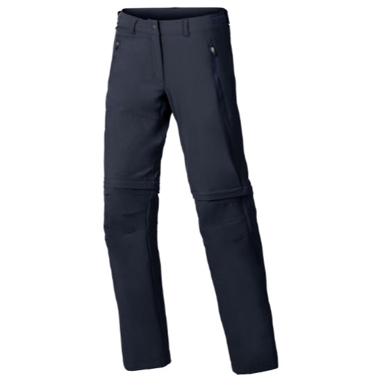 Vaude Farley Stretch Zo T-Zip Pants W - Eclipse