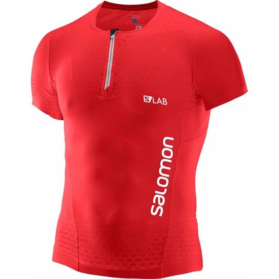 Salomon S-lab S-Lab Exo SS Tee - Racing Red