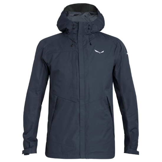 Salewa Puez Clastic Powertex 2L Jacket - Black Out