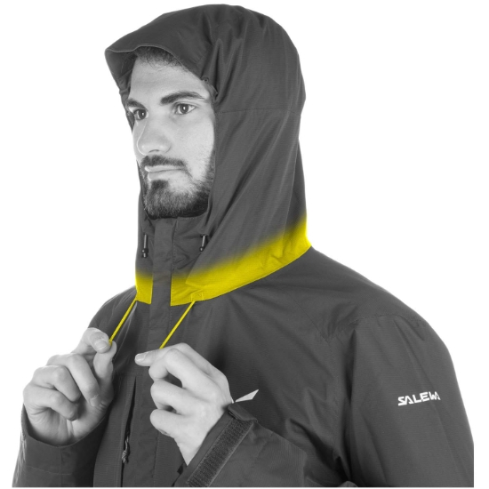 Salewa Puez Clastic Powertex 2L Jacket - Photo of detail