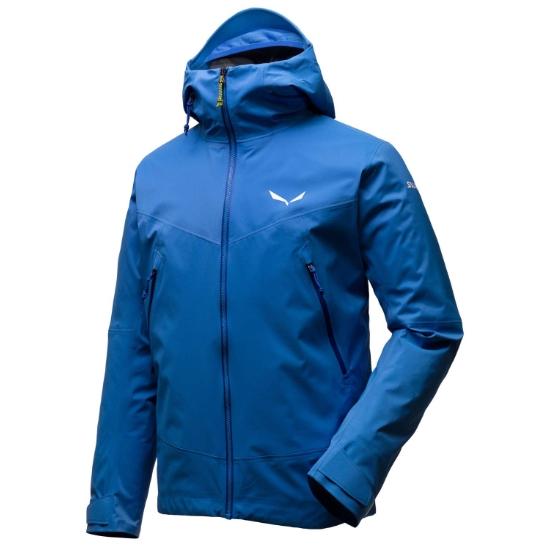 Salewa Ortles Powertex 3L Stretch Jacket - Royal Blue
