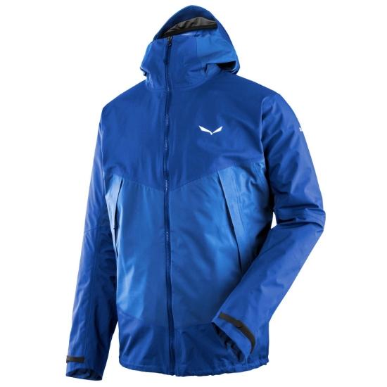 Salewa Puez 2 Powertex 3L Jacket - Nautical Blue