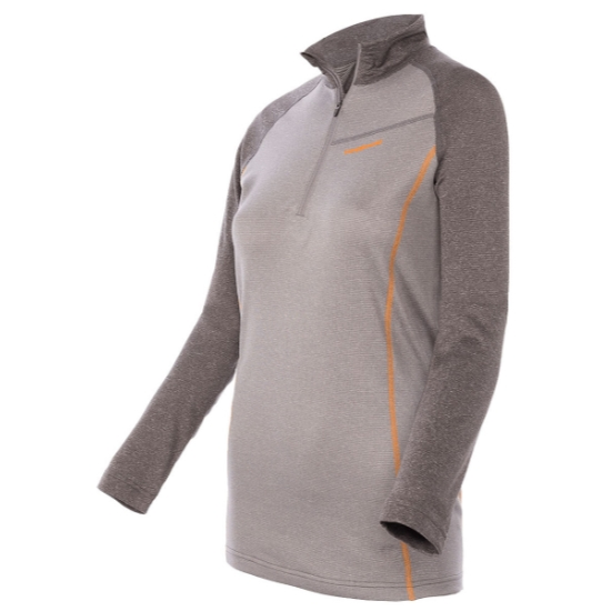 Trangoworld Pullover TRX2 Wool Pro W - Gris claro/Gris oscuro