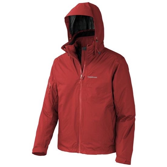 Trangoworld Sojezi Complet Jacket - Rojo Fuego