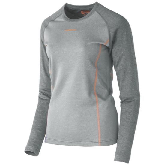 Trangoworld Camiseta TRX2 Wool Pro W - Gris claro/Gris oscuro