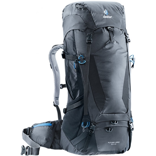 Deuter Futura Vario 50+10 - Graphite/Black