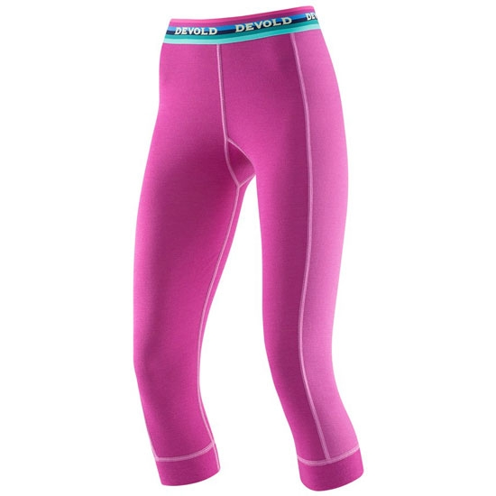 Devold Hiking W 3/4 Long Johns - Orchid