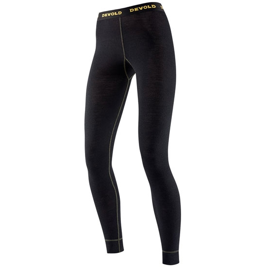 Devold Wool Mesh Long Johns W - Black
