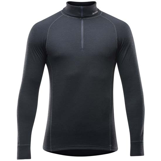 Devold Duo Active M Zip Neck - Black
