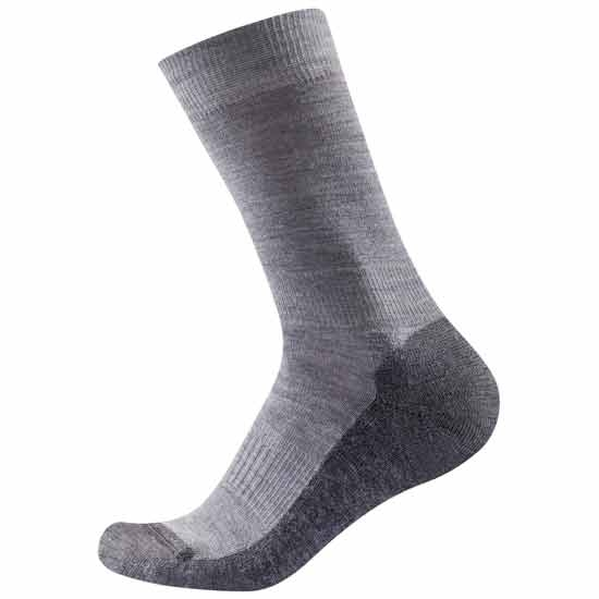 Devold Multi Medium Sock - Grey Melange