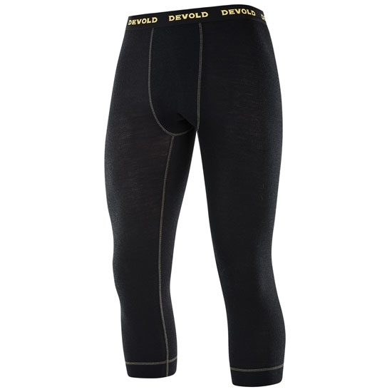 Devold Wool Mesh M 3/4 Long Johns - Black