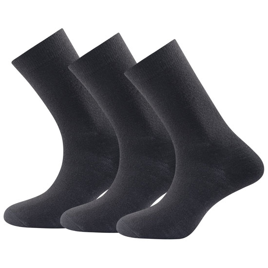 Devold Daily Medium Sock Pack 3 - Black