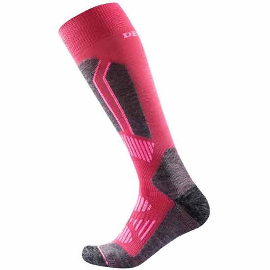 Devold Alpine Sock W - Cerise