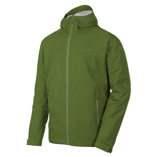 Salewa Puez (AQUA 3) Powertex Jacket - Cedar Green