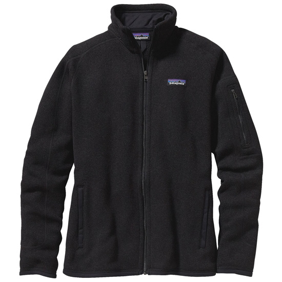 Patagonia Better Sweater Jkt W - Black