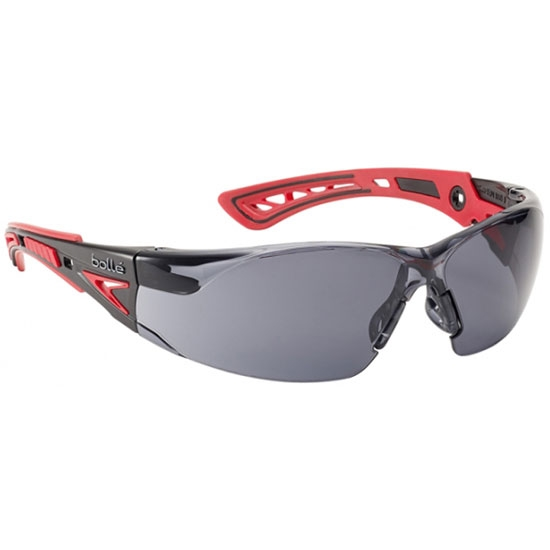 Bolle Safety Rush+ Ahumado - Red/Black