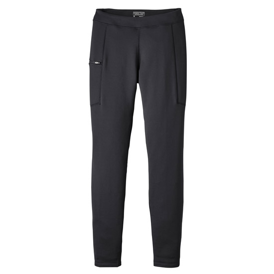 Patagonia Crosstrek Fleece Bottoms - Black