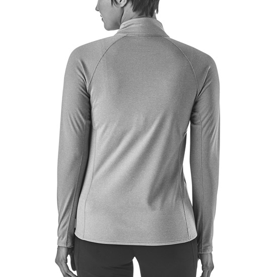 Patagonia Capilene® Midweight Zip-Neck W - Photo of detail