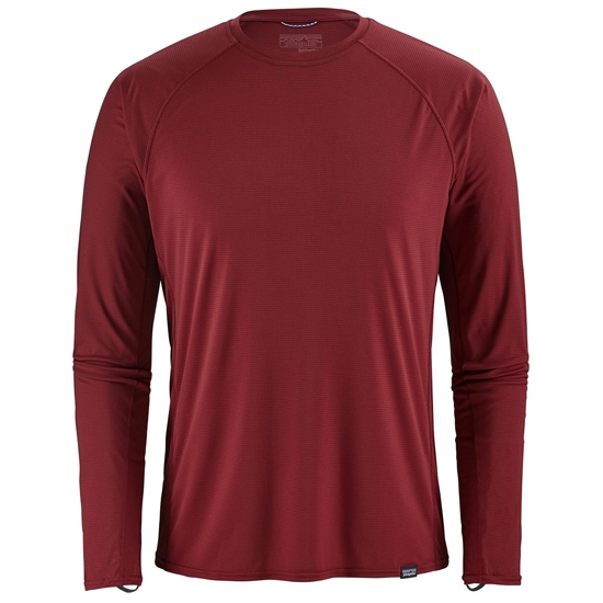 Patagonia Capilene Lightweight Crew - Oxide Red