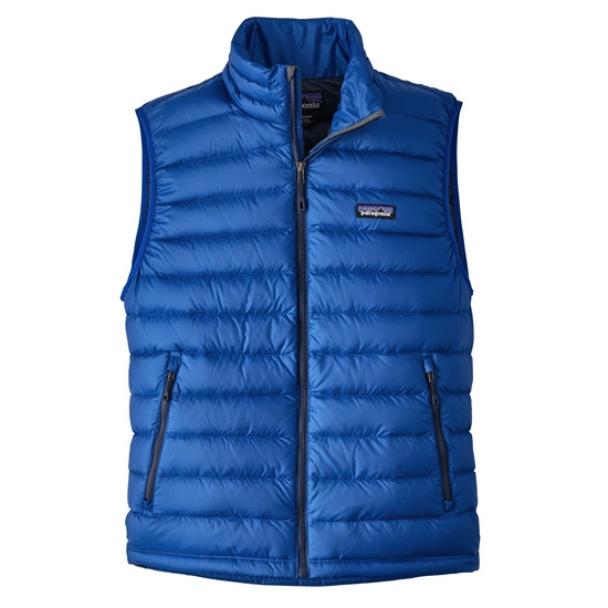 Patagonia Down Sweater Vest - Viking Blue