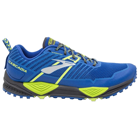 Brooks Cascadia 13 - Blue/Black/Lime