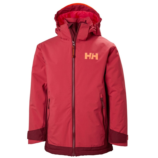 Helly Hansen Hillside Jacket Jr - Cardinal