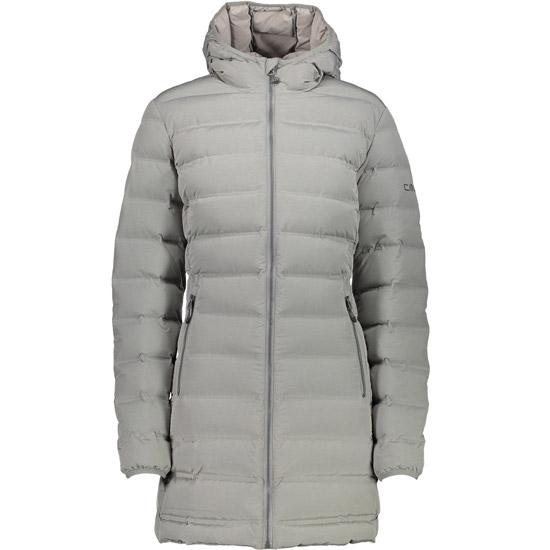 Campagnolo Fix Hood Coat W - Argento Melange