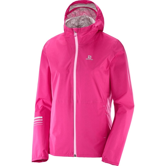 Salomon Lightning WP Jacket W - Pink Yarrow