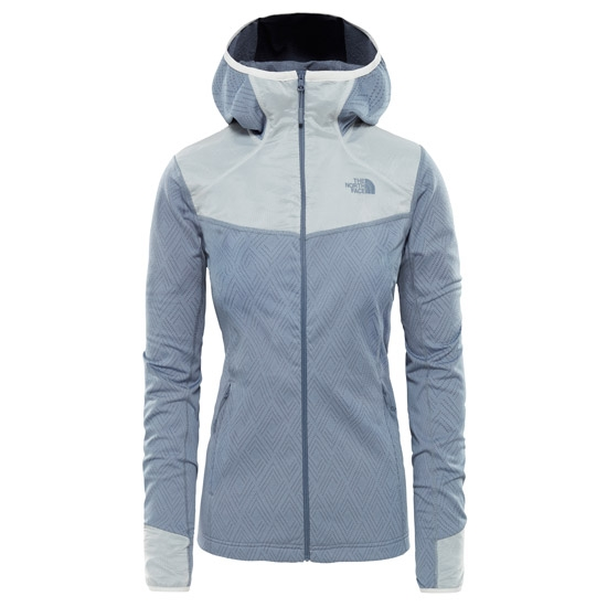 The North Face Inlux Tech Midlayer W - Grisaille Grey