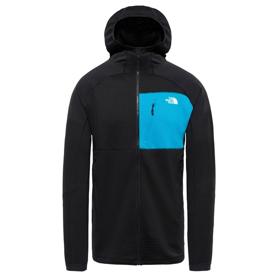 The North Face Impendor Grid Hoodie - Tnf Black/Hyper Blue