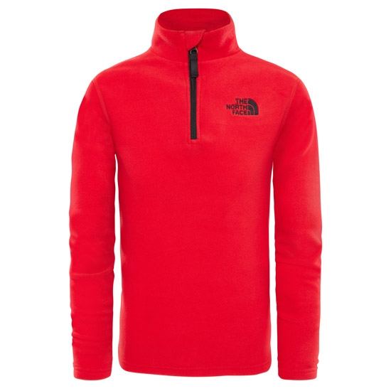 The North Face Glacier 1/4 Zip Youth - Tnf Red