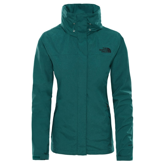 The North Face Sangro Jacket W - Botanical Garden Green Light Heather