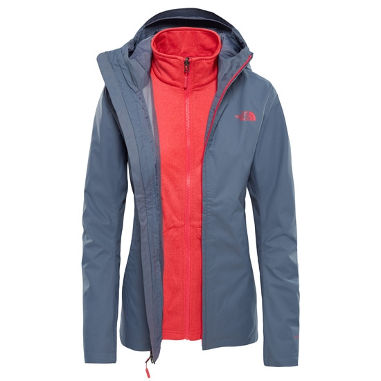 Grisaille Grey Atomic Pink. The North Face Tanken Triclimate Jacket ... 6720b0ddaacb