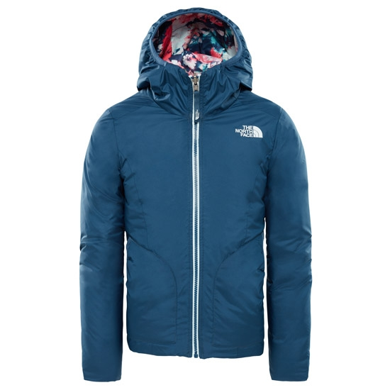 The North Face Reversible Perrito Jacket Girl - Blue Wing Teal