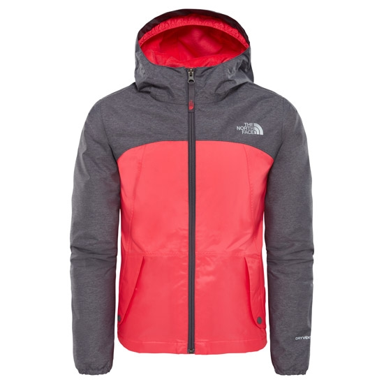 The North Face Warm Storm Jacket Girl - Atomic Pink
