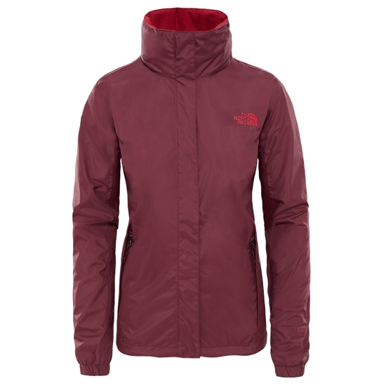 The North Face Resolve 2 Jacket W - Fig/Rumba Red
