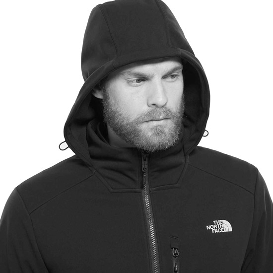The North Face Kabru Softshell Hooded Jacket - Photo of detail
