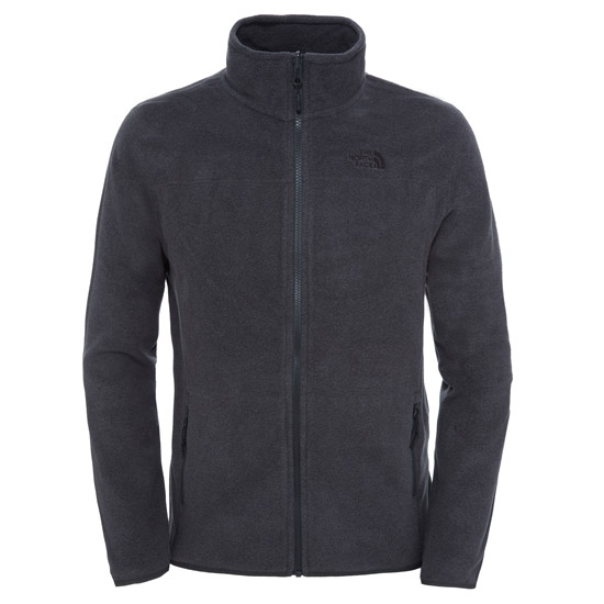 The North Face 100 Glacier Full Zip - Tnf Dark Grey Heather