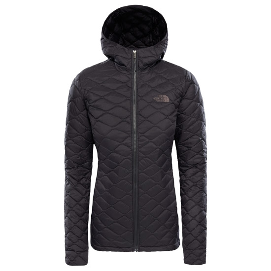 The North Face ThermoBall Pro Hoodie W - Tnf Black Matte