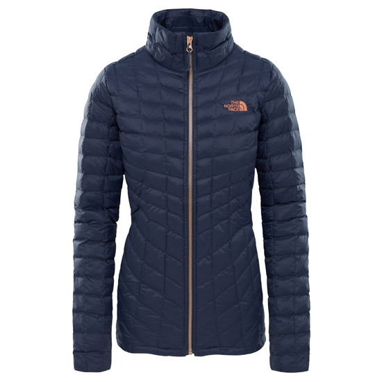 The North Face ThermoBall Full Zip Jacket W - Urban Navy/Metallic