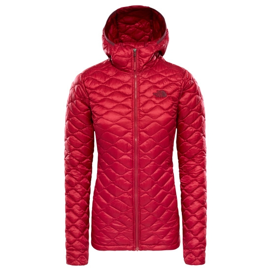 The North Face ThermoBall Pro Hoodie W - Rumba Red