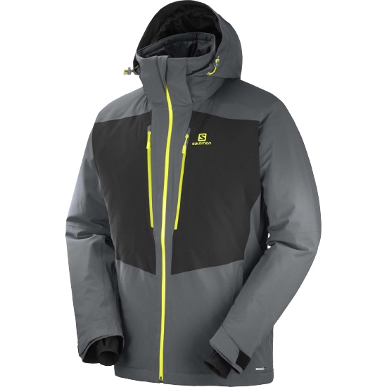 Salomon Icefrost Jacket - Forged Iron/Black