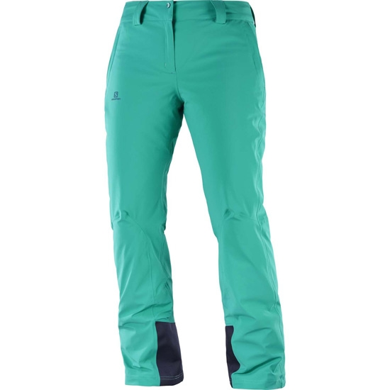 Salomon Icemania Pant W - Waterfall