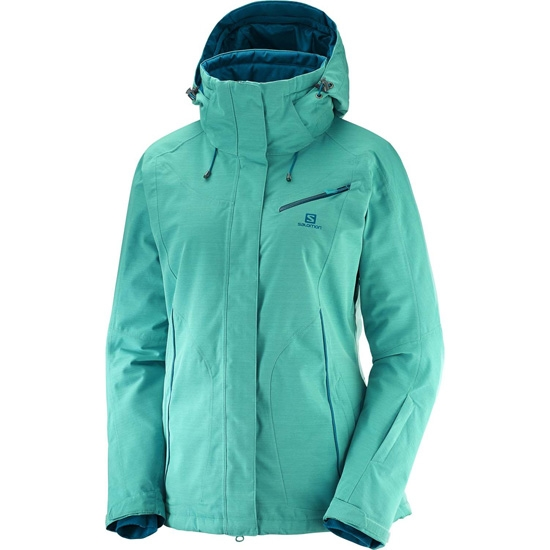Salomon Fantasy Jacket W - Waterfall Heather