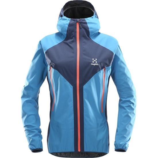 Haglöfs L.I.M Proof Multi Jacket W - Tarn Blue/Blue Fox