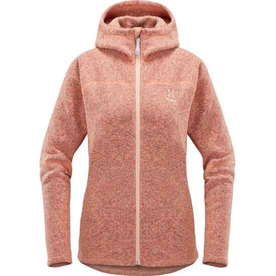 Haglöfs Swook Hood W - Cloudy Pink