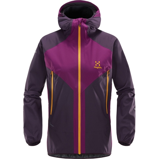 Haglöfs L.I.M Proof Multi Jacket W - Lilac/Acai Berry