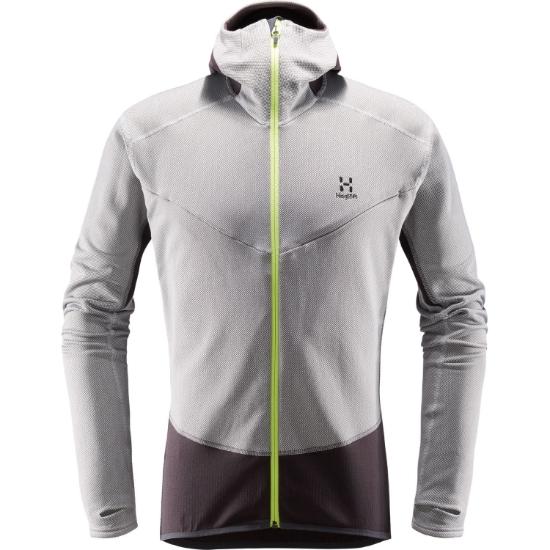 782ca08e Haglöfs L.I.M Touring Hood - Full Zip - Stretch Fleece - Jackets ...