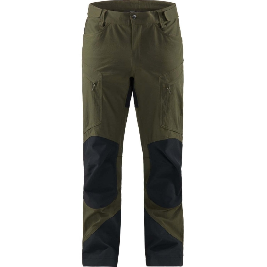 Haglöfs Rugged Mountain Pant Short - Deep Woods/True Black